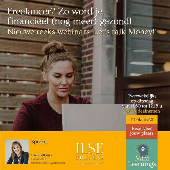 Banner van onze partner Freelancer? Zo word je financieel (nog meer) gezond!